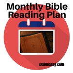 Monthly Bible Reading Plans